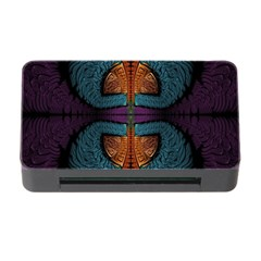 Art Abstract Fractal Pattern Memory Card Reader With Cf