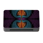 Art Abstract Fractal Pattern Memory Card Reader with CF Front