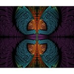 Art Abstract Fractal Pattern Deluxe Canvas 14  x 11  (Stretched) 14  x 11  x 1.5  Stretched Canvas
