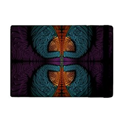 Art Abstract Fractal Pattern Apple Ipad Mini Flip Case