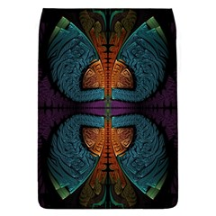 Art Abstract Fractal Pattern Removable Flap Cover (l)