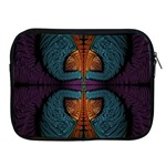 Art Abstract Fractal Pattern Apple iPad 2/3/4 Zipper Cases Front