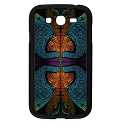 Art Abstract Fractal Pattern Samsung Galaxy Grand Duos I9082 Case (black)