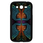 Art Abstract Fractal Pattern Samsung Galaxy Grand DUOS I9082 Case (Black) Front