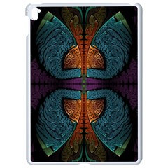 Art Abstract Fractal Pattern Apple Ipad Pro 9 7   White Seamless Case by Wegoenart