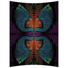Art Abstract Fractal Pattern Back Support Cushion