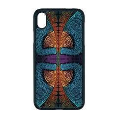 Art Abstract Fractal Pattern Iphone Xr Seamless Case (black)