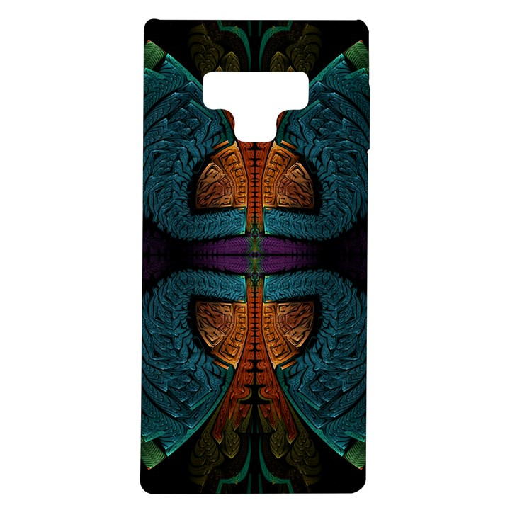 Art Abstract Fractal Pattern Samsung Galaxy Note 9 TPU UV Case