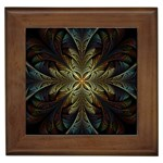 Fractal Art Abstract Pattern Framed Tile Front