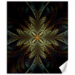 Fractal Art Abstract Pattern Canvas 20  X 24