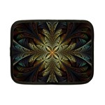 Fractal Art Abstract Pattern Netbook Case (Small) Front