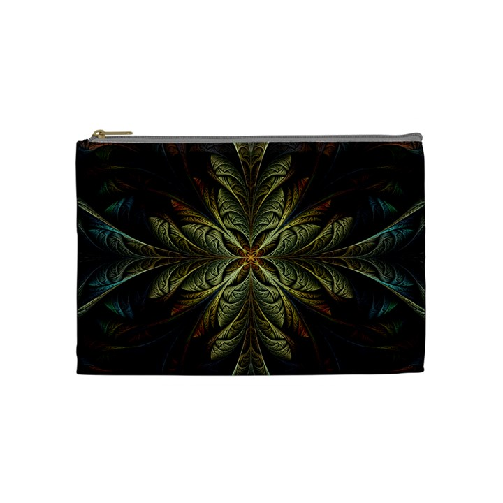 Fractal Art Abstract Pattern Cosmetic Bag (Medium)