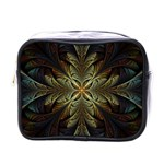 Fractal Art Abstract Pattern Mini Toiletries Bag (One Side) Front