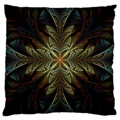 Fractal Art Abstract Pattern Large Cushion Case (one Side)