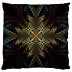 Fractal Art Abstract Pattern Large Cushion Case (One Side) Front