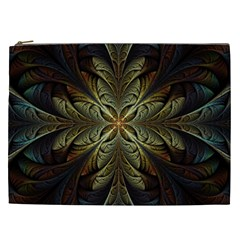 Fractal Art Abstract Pattern Cosmetic Bag (xxl)