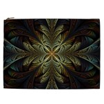 Fractal Art Abstract Pattern Cosmetic Bag (XXL) Front