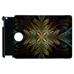 Fractal Art Abstract Pattern Apple iPad 3/4 Flip 360 Case Front