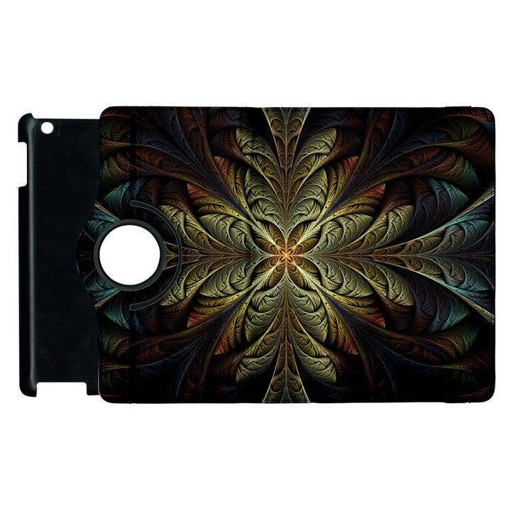Fractal Art Abstract Pattern Apple iPad 3/4 Flip 360 Case