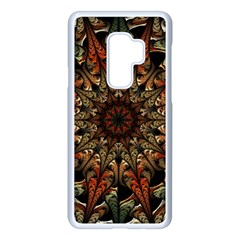 Art Abstract Fractal Pattern Samsung Galaxy S9 Plus Seamless Case(white) by Wegoenart