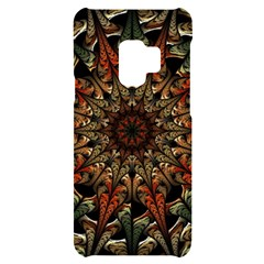 Art Abstract Fractal Pattern Samsung S9 Black Uv Print Case by Wegoenart