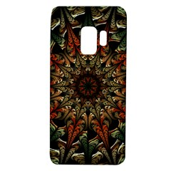 Art Abstract Fractal Pattern Samsung Galaxy S9 Tpu Uv Case by Wegoenart