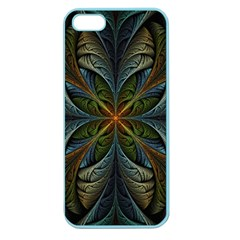 Fractal Art Abstract Pattern Apple Seamless Iphone 5 Case (color) by Wegoenart