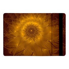 Fractal Flower Floral Gold Pattern Apple Ipad 9 7 by Wegoenart