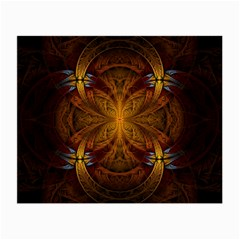 Fractal Art Abstract Pattern Small Glasses Cloth (2 Sides) by Wegoenart