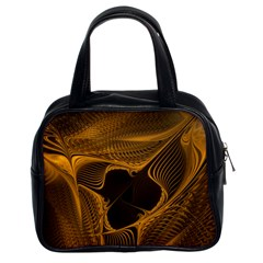 Fractal Design Background Pattern Classic Handbag (two Sides)