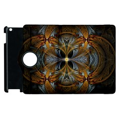 Fractal Art Abstract Pattern Apple Ipad 3/4 Flip 360 Case by Wegoenart