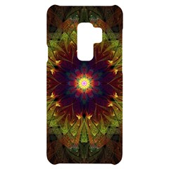 Art Abstract Fractal Pattern Samsung S9 Plus Black Uv Print Case by Wegoenart