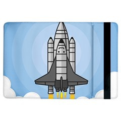 Rocket Shuttle Spaceship Science Ipad Air Flip by Wegoenart