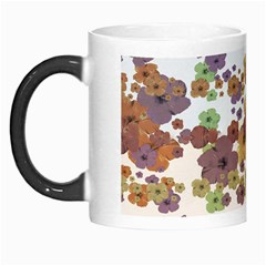 Multicolored Floral Collage Print Morph Mugs by dflcprintsclothing