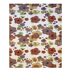 Multicolored Floral Collage Print Shower Curtain 60  X 72  (medium)  by dflcprintsclothing