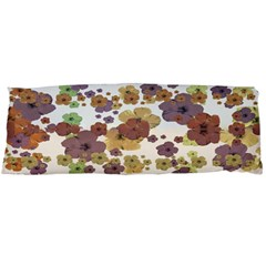 Multicolored Floral Collage Print Body Pillow Case (dakimakura) by dflcprintsclothing