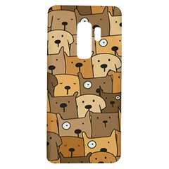Cute Dog Seamless Pattern Background Samsung Galaxy S9 Plus Tpu Uv Case