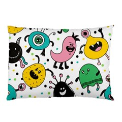 Funny Monster Pattern Pillow Case