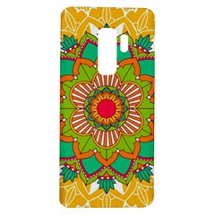 Mandala Patterns Yellow Samsung Galaxy S9 Plus Tpu Uv Case