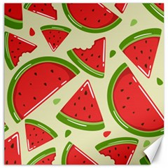 Cute Watermelon Seamless Pattern Canvas 12  X 12