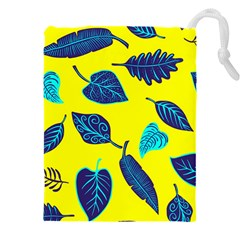 Leaves Pattern Picture Detail Drawstring Pouch (3xl)