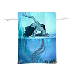 Wonderful Jellyfish Women Lightweight Drawstring Pouch (m)