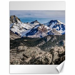 El Chalten Landcape Andes Patagonian Mountains, Agentina Canvas 18  X 24  by dflcprintsclothing