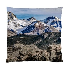 El Chalten Landcape Andes Patagonian Mountains, Agentina Standard Cushion Case (one Side) by dflcprintsclothing