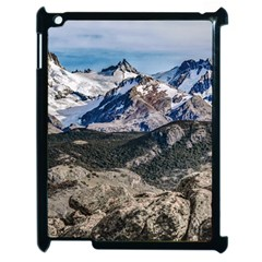 El Chalten Landcape Andes Patagonian Mountains, Agentina Apple Ipad 2 Case (black) by dflcprintsclothing
