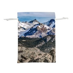 El Chalten Landcape Andes Patagonian Mountains, Agentina Lightweight Drawstring Pouch (l) by dflcprintsclothing