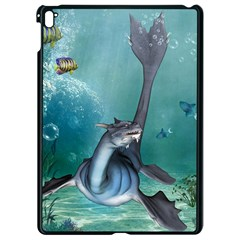 Awesome Seadragon Apple Ipad Pro 9 7   Black Seamless Case by FantasyWorld7