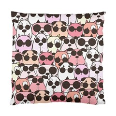 Cute Dog Seamless Pattern Background Standard Cushion Case (one Side)
