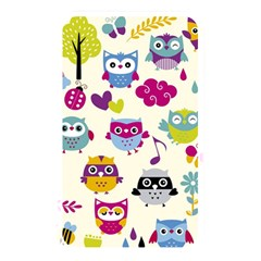 Funny Colorful Owls Memory Card Reader (rectangular)