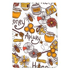 Honey Seamless Pattern Removable Flap Cover (l)